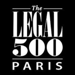 Recommended by The Legal 500 Paris.